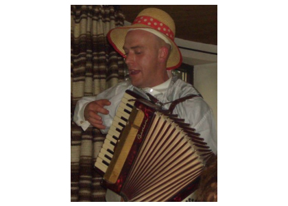 Accordeon Spieler