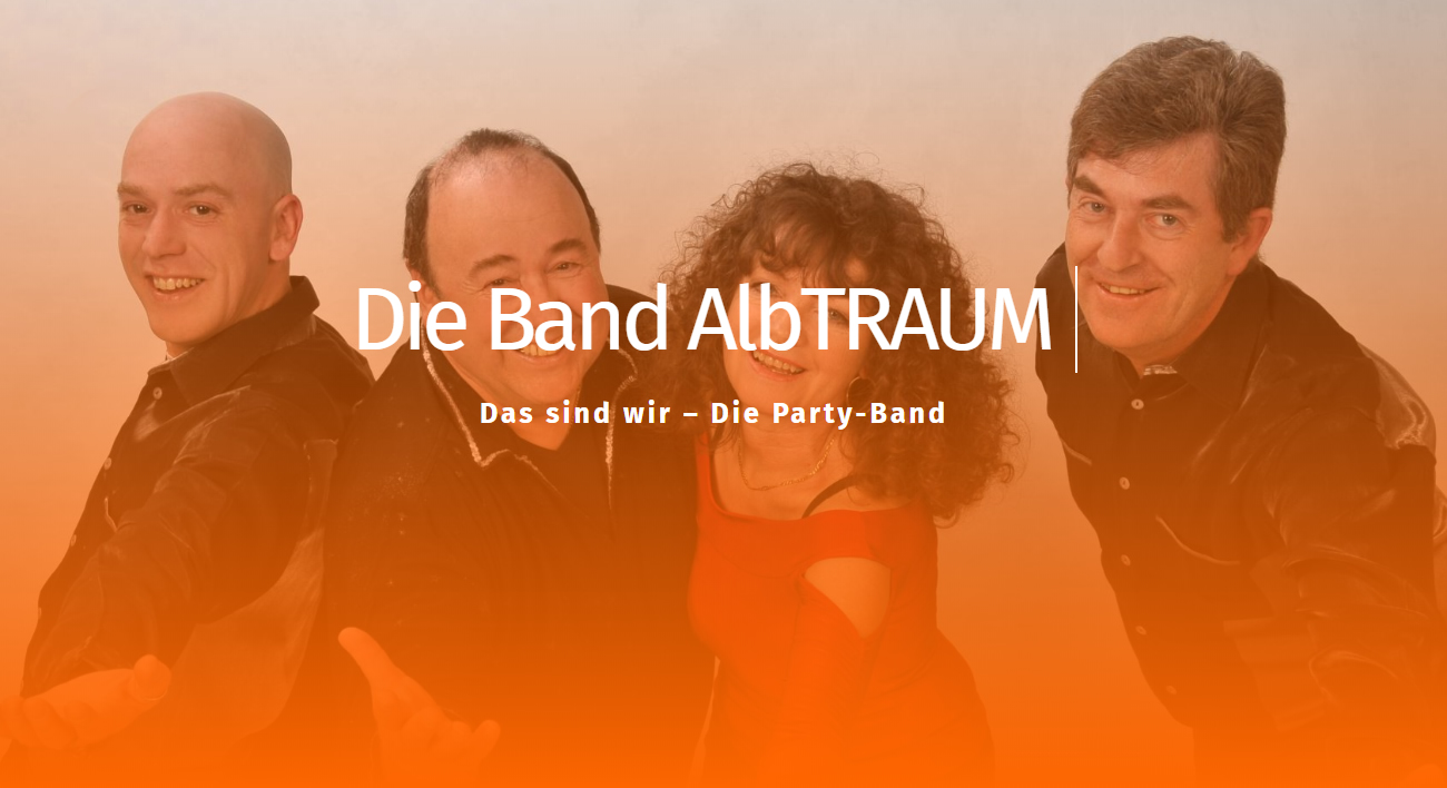 Band Vils, AlbTRAUM » Partyband, Coverbands