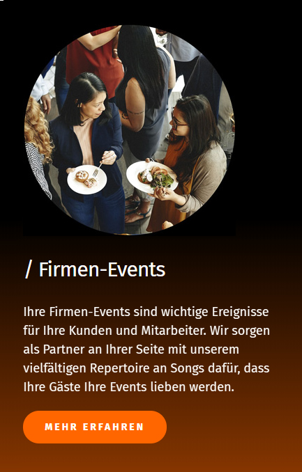 Firmen Events Band in 86807 Buchloe