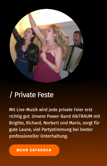 Live Musik Band für  Wängle